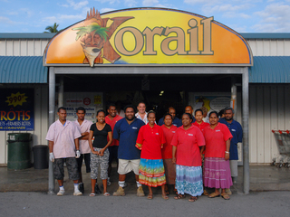 Photo of the Korail Lifou team