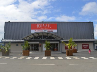 Photo of the storefront of Korail Païta