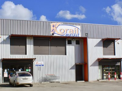 Photo of the storefront of Korail Dumbéa